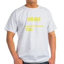 Unique Grau T-Shirt