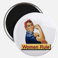 Women Rule Magnet for Strong Women