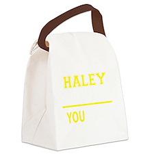 Haley Canvas Lunch Bag