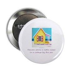 Cottage by the Sea Button
