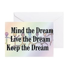 Live the Dream Greeting Cards (Pk of 10)