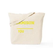 Cute Jamison Tote Bag