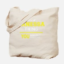 Cute Janessa Tote Bag