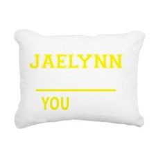 Cool Jaelynn Rectangular Canvas Pillow