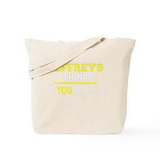 Jeffrey Tote Bag