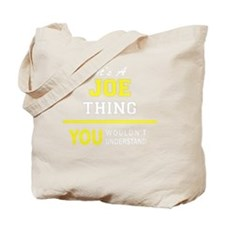 Unique Joe Tote Bag