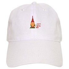 I Love You Gnome Baseball Baseball Cap