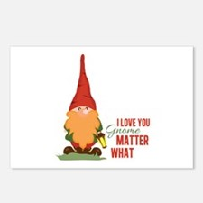 I Love You Gnome Postcards (Package of 8)