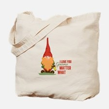 I Love You Gnome Tote Bag