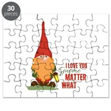 I Love You Gnome Puzzle