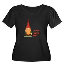 I Love You Gnome Plus Size T-Shirt