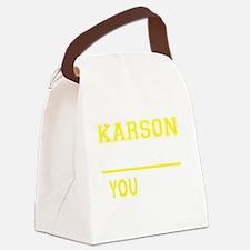 Funny Karson Canvas Lunch Bag