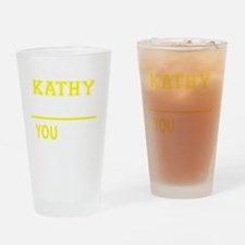 Unique Kathy Drinking Glass