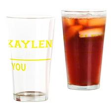 Cute Kaylen Drinking Glass