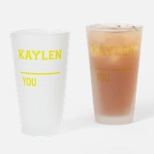 Cute Kaylen Drinking Glass