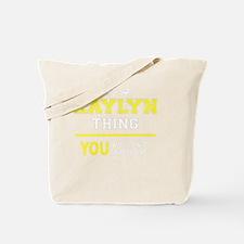 Cute Kaylyn Tote Bag
