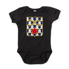16th Infantry Regiment Insignia.png Baby Bodysuit