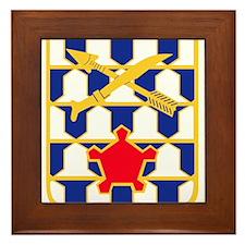 16th Infantry Regiment Insignia.png Framed Tile