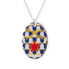 16th Infantry Regiment Insigni Necklace Oval Charm