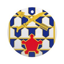 16th Infantry Regiment Insignia.p Ornament (Round)
