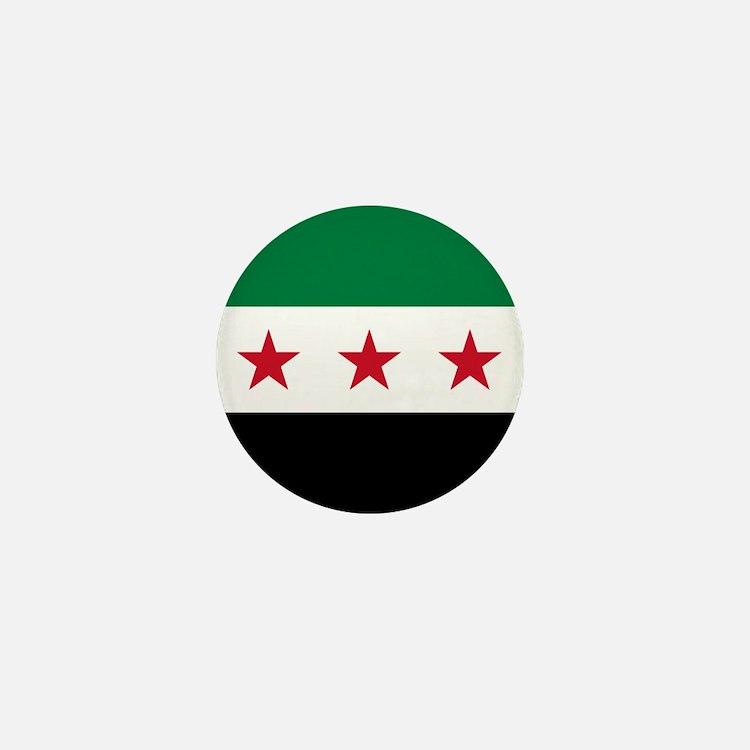 Syrian National Coalition Flag Mini Button