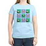 Treasure Map Blocks Women's Light T-Shirt