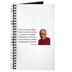 Dalai Lama 1 Journal