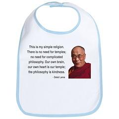 Dalai Lama 1 Bib