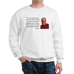 Dalai Lama 1 Sweatshirt