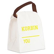 Unique Korbin Canvas Lunch Bag