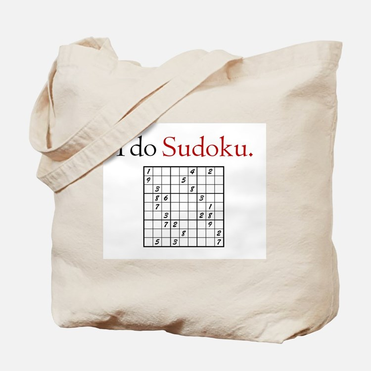 I do Sudoku Tote Bag