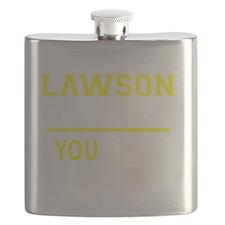 Funny Lawson Flask