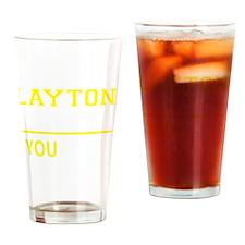 Cute Layton Drinking Glass