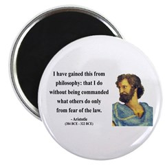 "Aristotle 8 2.25"" Magnet (10 pack)"