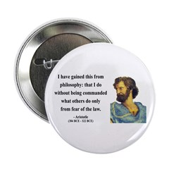 "Aristotle 8 2.25"" Button (10 pack)"