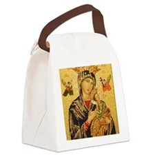 Our Lady of Perpetual Help Canvas Lunch Bag