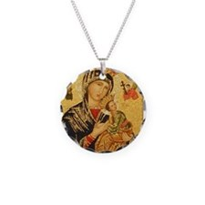 Our Lady of Perpetual Help Necklace