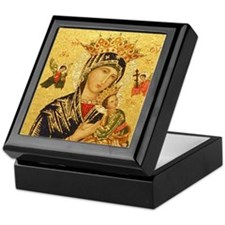 Our Lady of Perpetual Help Keepsake Box