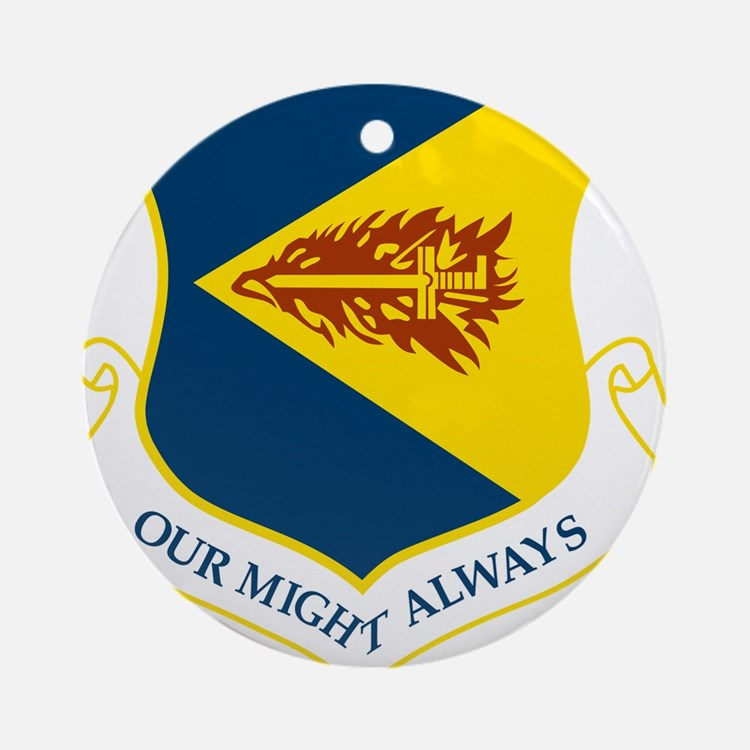 355th Fighter wing.png Ornament (Round)