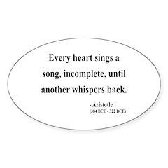 Aristotle 7 Oval Decal