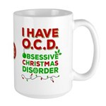 Obsessive Christmas Disorder Mugs