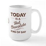 Hot chocolate mug Large Mugs (15 oz)