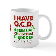 Obsessive Christmas Disorder Mugs