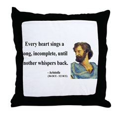 Aristotle 7 Throw Pillow