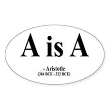Aristotle 6 Oval Decal