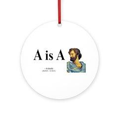 Aristotle 6 Ornament (Round)