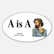Aristotle 6 Oval Decal