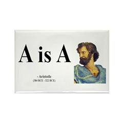 Aristotle 6 Rectangle Magnet
