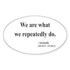 Aristotle 4 Oval Decal