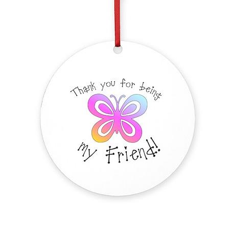 My Friend Ornament (Round)